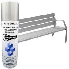 Kote Zinc Aluminio. Galvanizado en frío. Color aluminio (Unidad desde 13,90€)