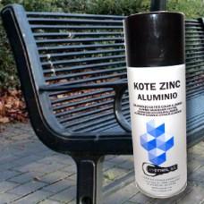 Kote Zinc Aluminio. Galvanizado en frío. Color aluminio (Unidad desde 11.50€)